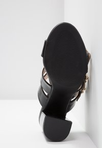 Even&Odd - Pantofle na podpatku - black - 6