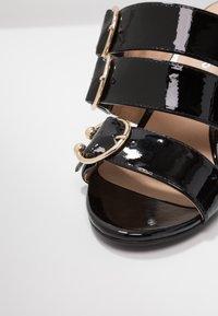 Even&Odd - Pantofle na podpatku - black - 2