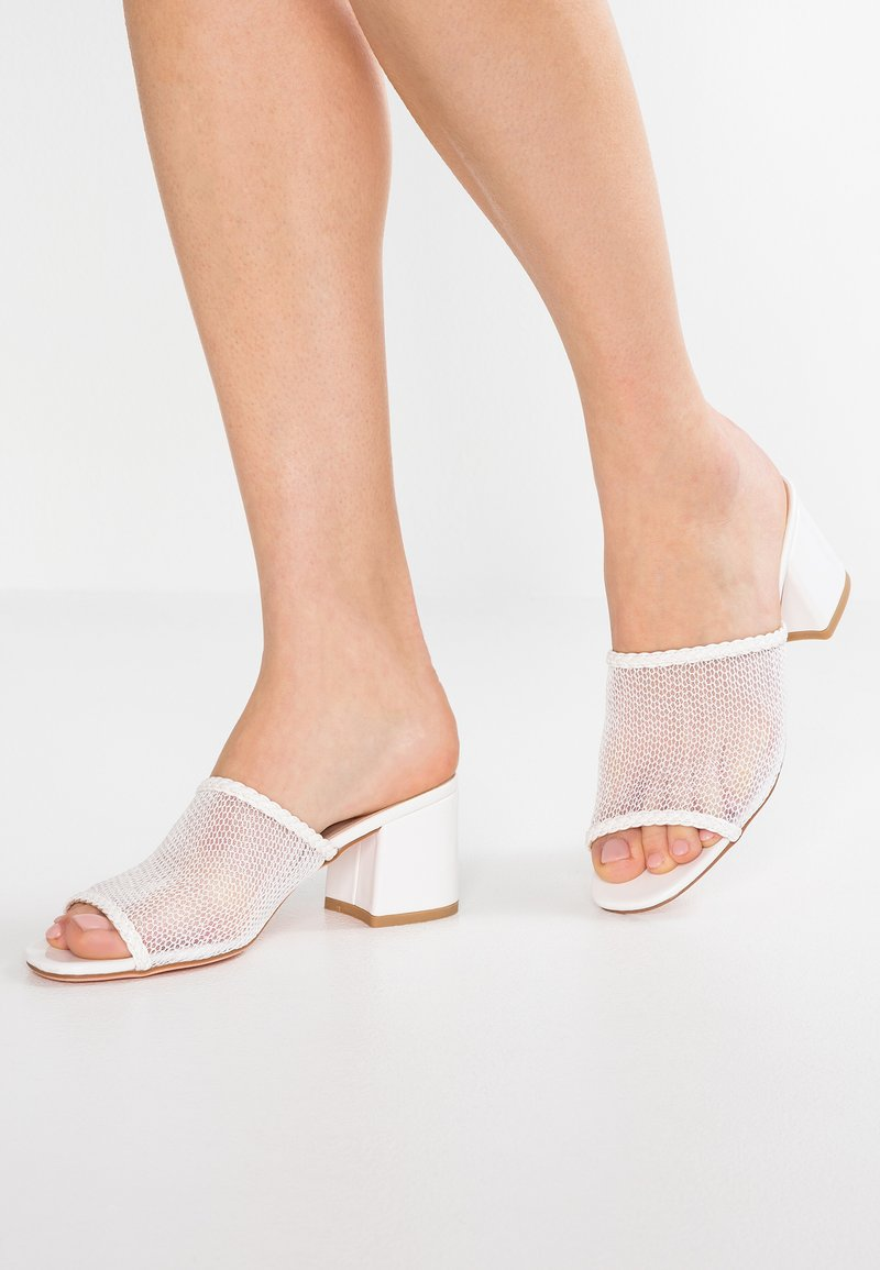 Even&Odd - Heeled mules - white