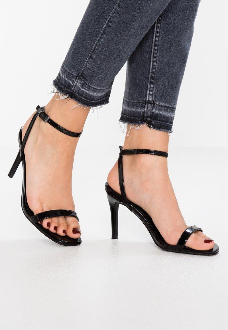 Even&Odd - Højhælede sandaletter / Højhælede sandaler - black