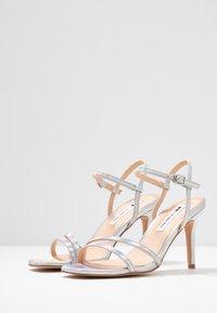 Even&Odd - Sandaler med høye hæler - silver - 4