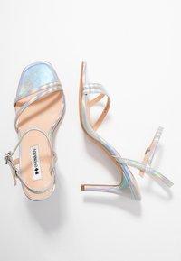 Even&Odd - Sandaler med høye hæler - silver - 3