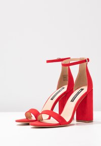 Even&Odd - Sandaler med høye hæler - red - 4