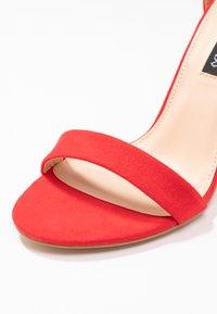 Even&Odd - Sandaler med høye hæler - red - 2