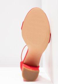 Even&Odd - Sandaler med høye hæler - red - 6