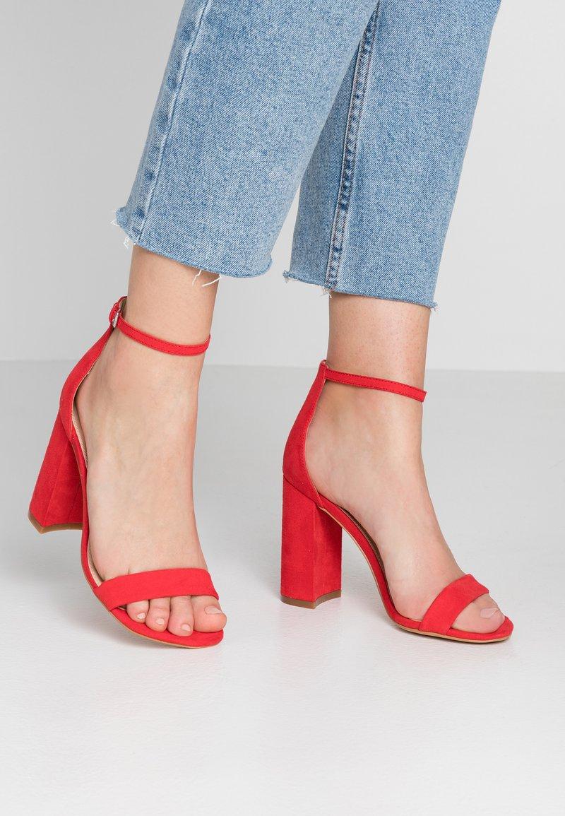Even&Odd - Sandaler med høye hæler - red