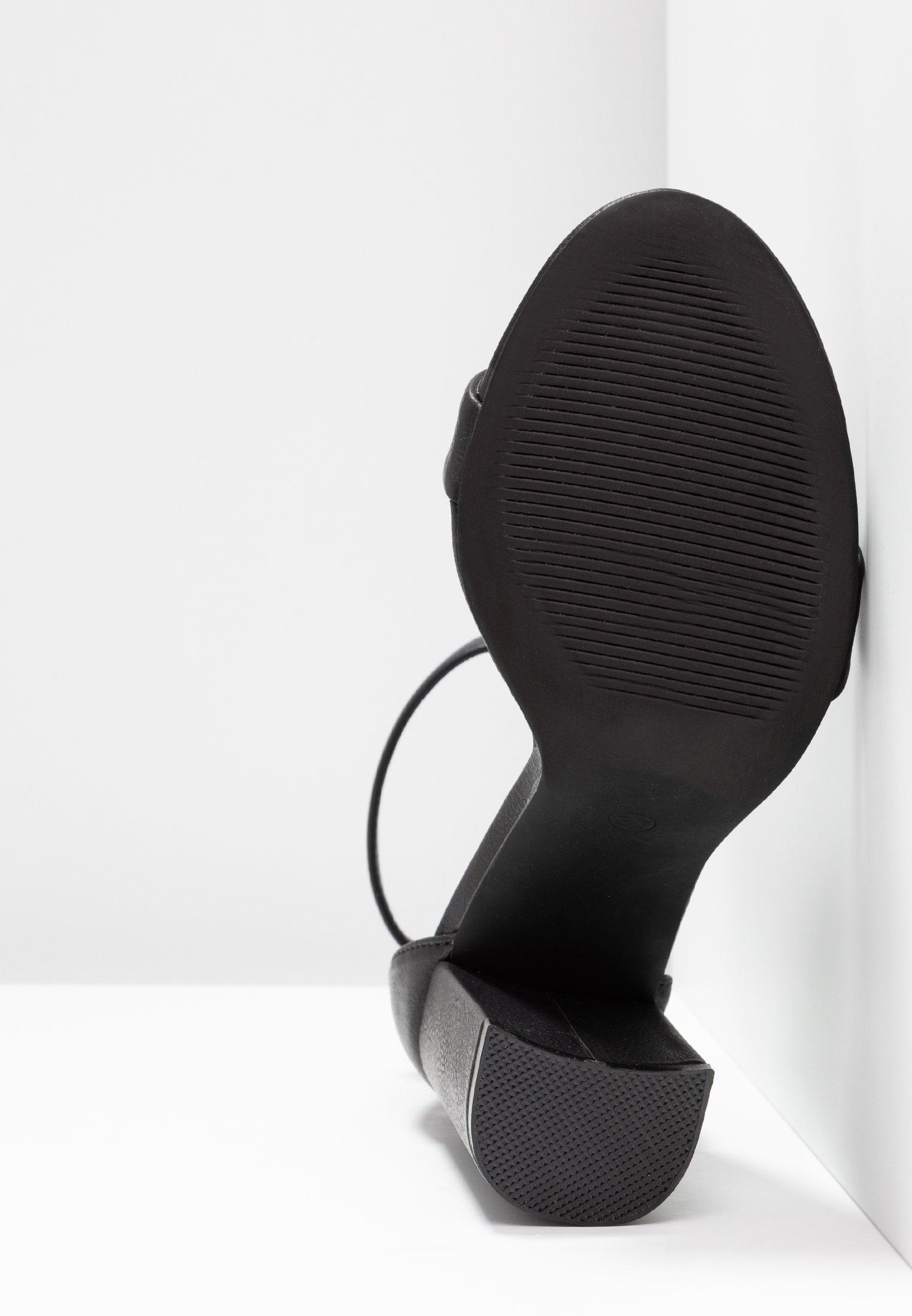 Black Even amp;odd Tacco Sandali Con mN8Ovn0w