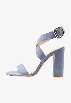 High Heel Sandalette - blue