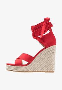 Even&Odd - Korolliset sandaalit - red - 1