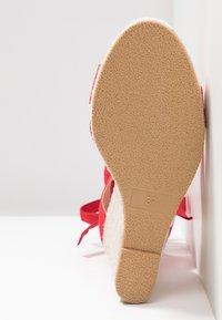 Even&Odd - Korolliset sandaalit - red - 6