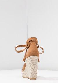 Even&Odd - Korolliset sandaalit - cognac - 5