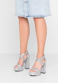 Even&Odd - High heeled sandals - grey - 0