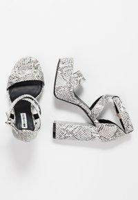 Even&Odd - High heeled sandals - grey - 3