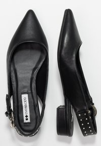 Even&Odd - Slingback ballet pumps - black - 3