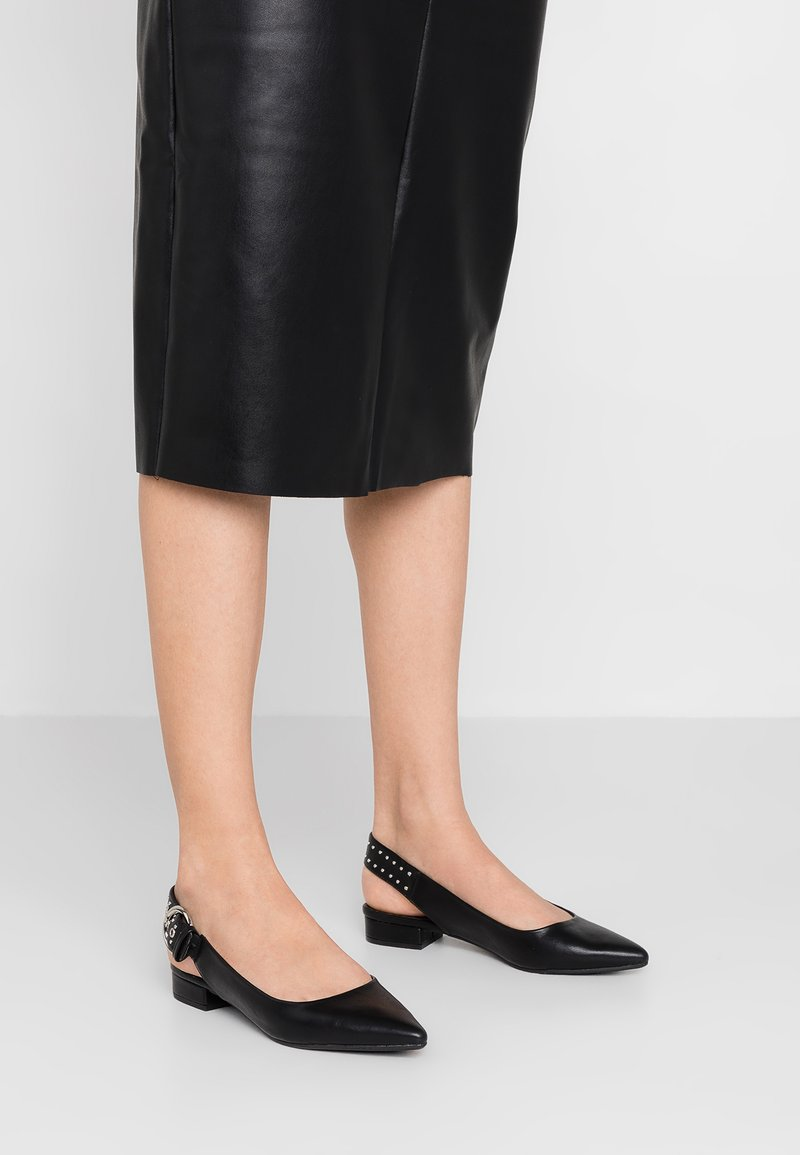 Even&Odd - Slingback ballet pumps - black