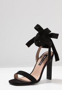 Even&Odd - Sandály na vysokém podpatku - black - 4