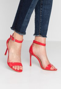 Even&Odd - High Heel Sandalette - red - 0