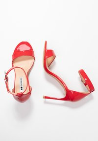 Even&Odd - High Heel Sandalette - red - 3
