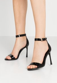 Even&Odd - Korolliset sandaalit - black - 0
