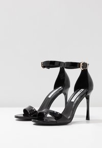 Even&Odd - Korolliset sandaalit - black - 4