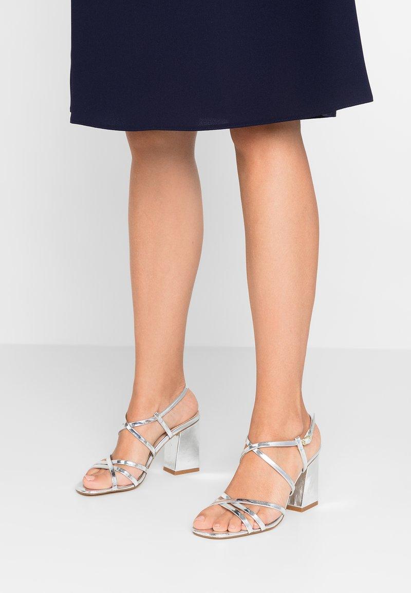 Even&Odd - High Heel Sandalette - silver