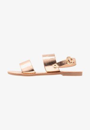 Sandály - rose gold