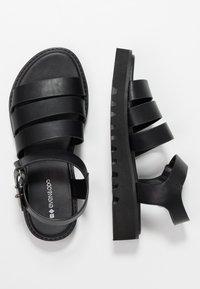 Even&Odd - Platform sandals - black - 3