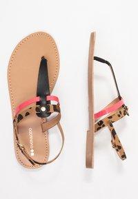 Even&Odd - Sandály s odděleným palcem - black - 3