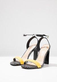 Even&Odd - Sandaler med høye hæler - yellow - 4