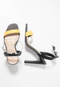 Even&Odd - Sandaler med høye hæler - yellow - 3