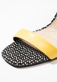Even&Odd - Sandaler med høye hæler - yellow - 2