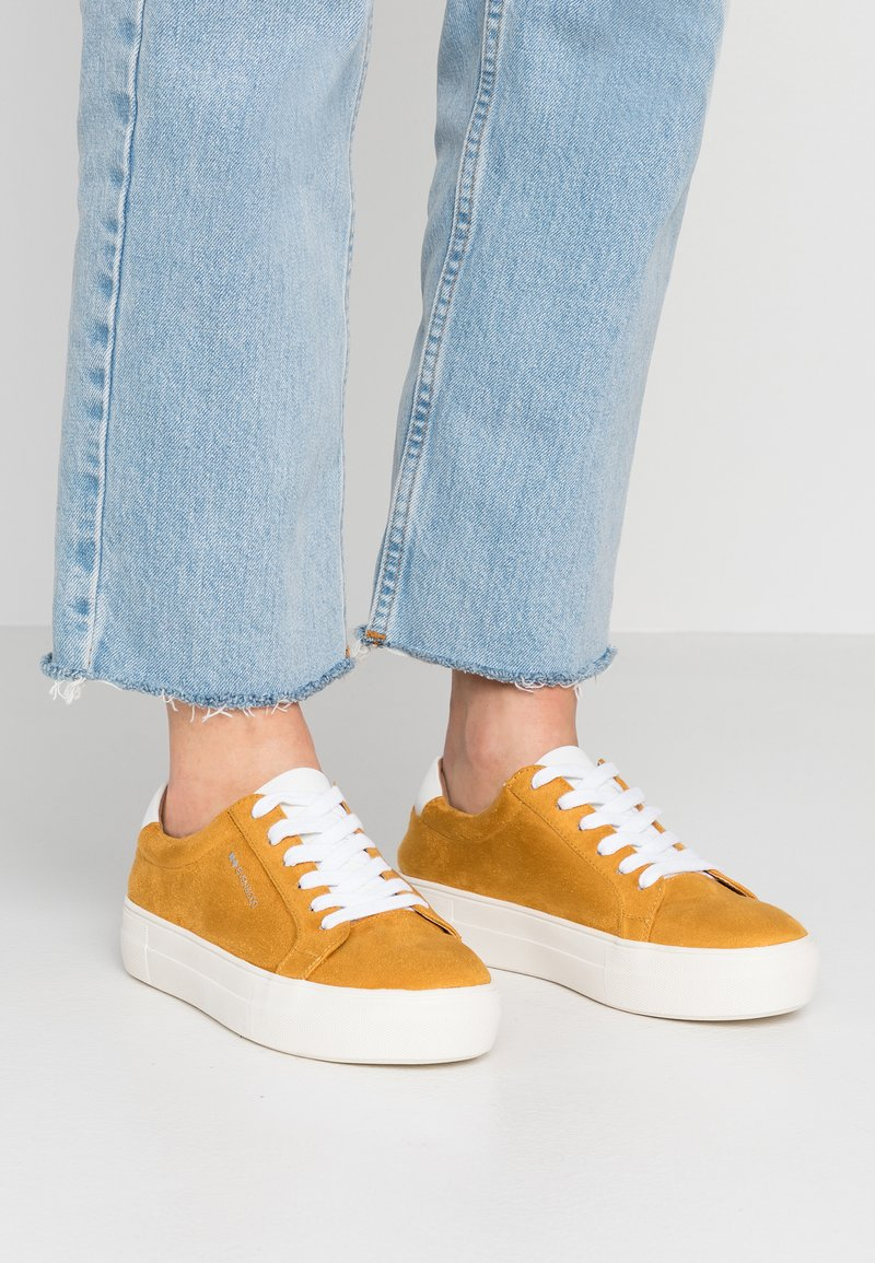 Even&Odd - Sneakers - mustard