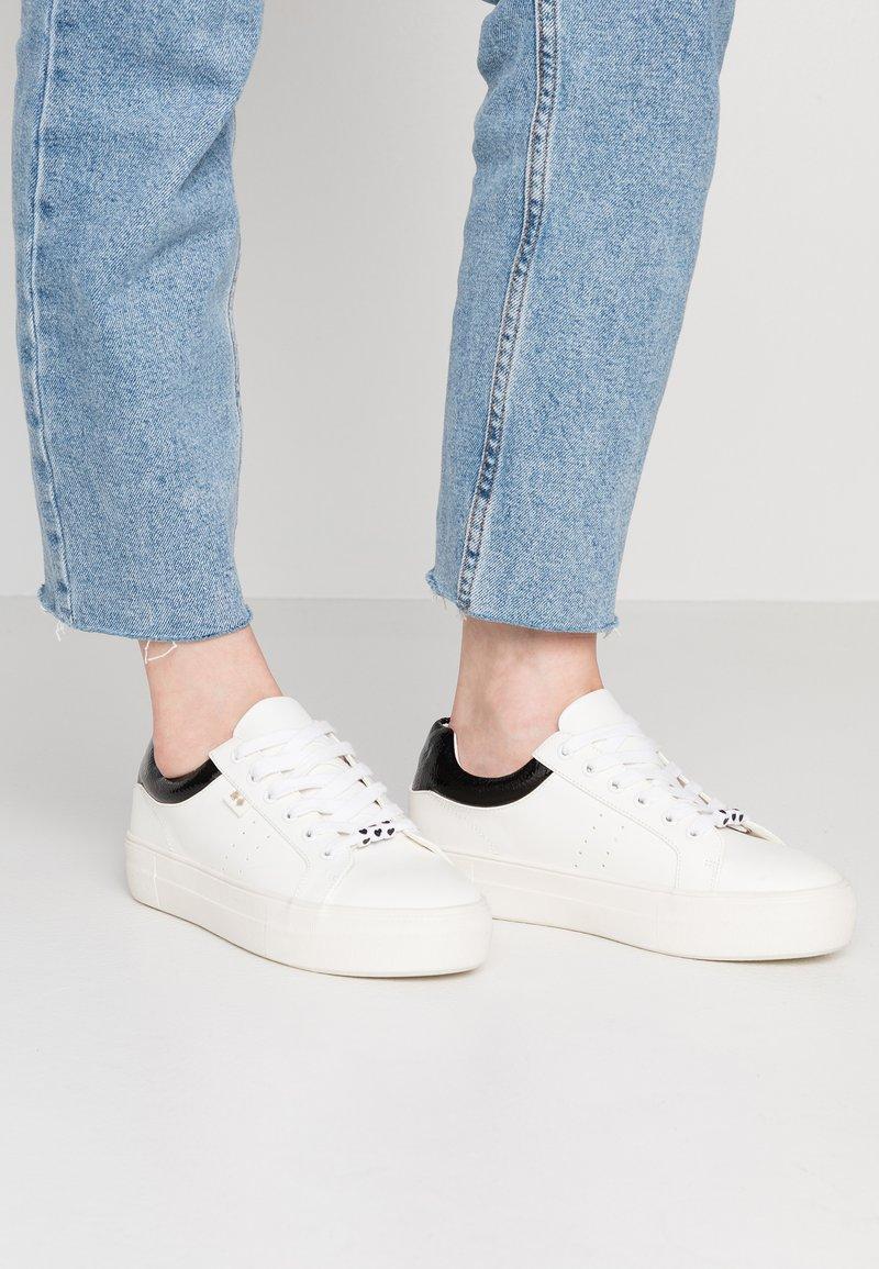 Even&Odd - Sneakers - white/black