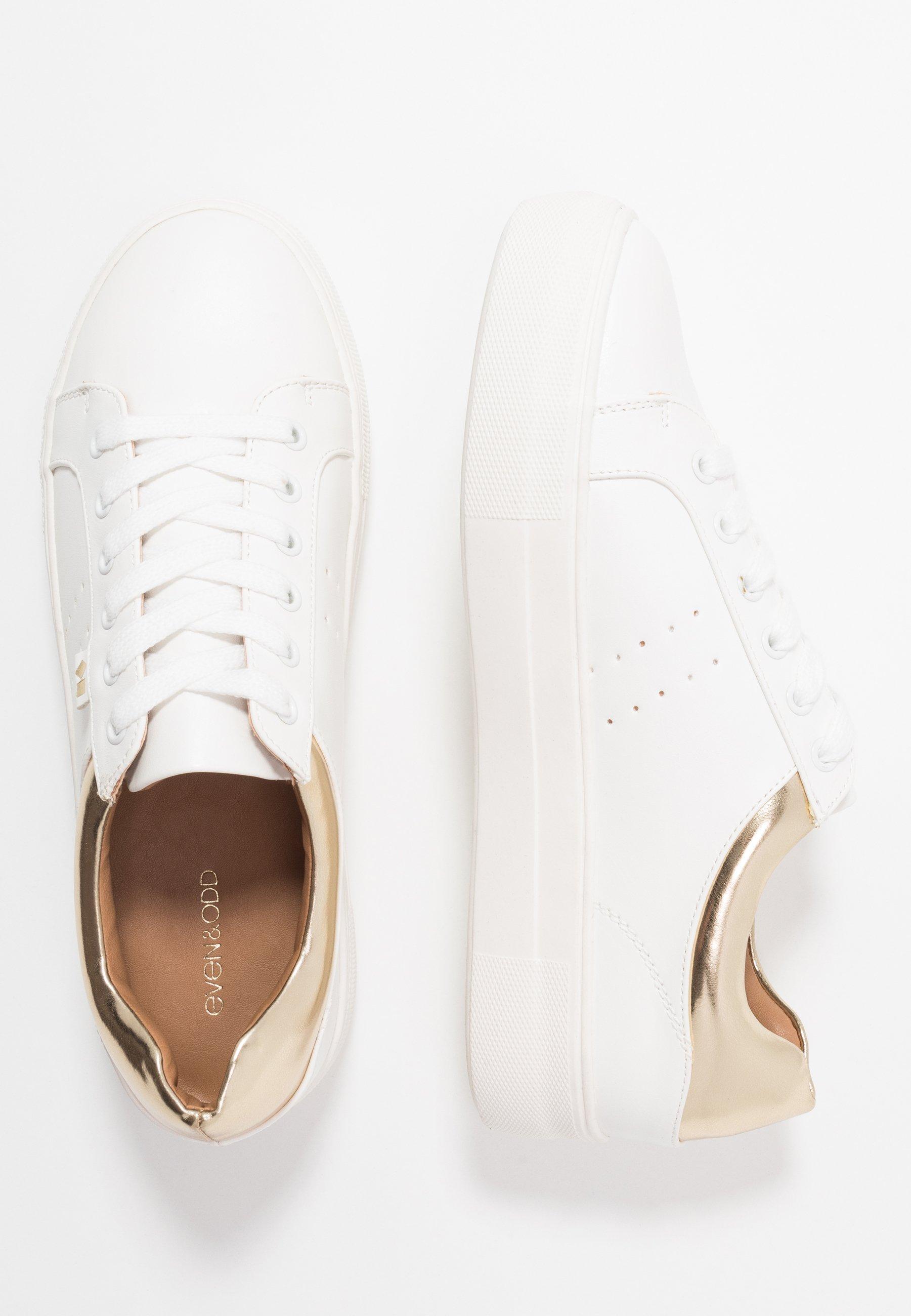 Even&Odd Sneakers - white/gold