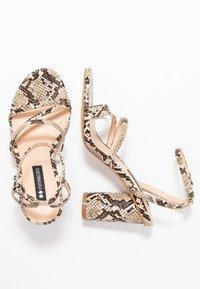 Even&Odd - Sandály na vysokém podpatku - beige - 3