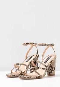 Even&Odd - Sandály na vysokém podpatku - beige - 4