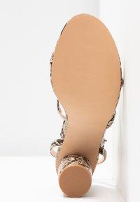 Even&Odd - Sandály na vysokém podpatku - beige - 6