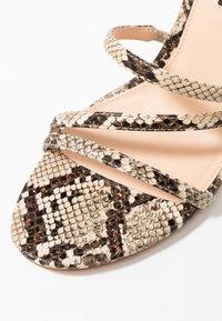 Even&Odd - Sandály na vysokém podpatku - beige - 2