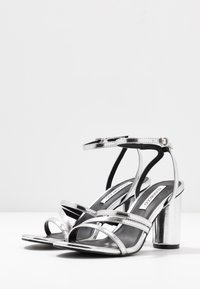 Even&Odd - Sandalen met hoge hak - silver - 4