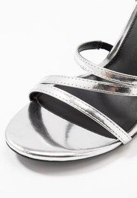 Even&Odd - Sandalen met hoge hak - silver - 2