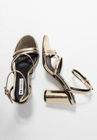 Even&Odd - Sandaler med høye hæler - gold - 3