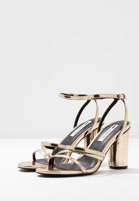 Even&Odd - Sandaler med høye hæler - gold - 5