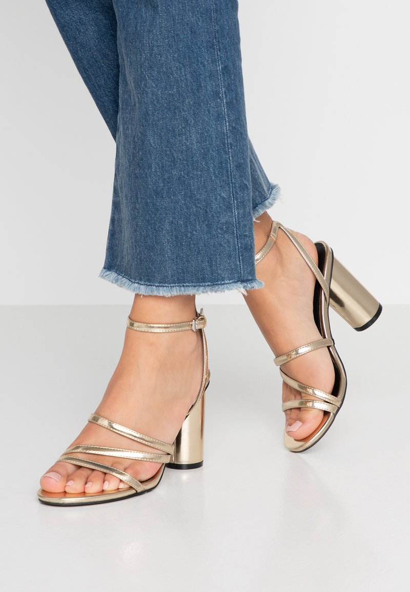 Even&Odd - Sandaler med høye hæler - gold