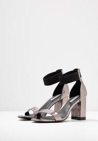 Even&Odd - Sandály na vysokém podpatku - gunmetal - 4