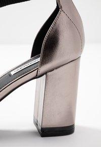 Even&Odd - Sandály na vysokém podpatku - gunmetal - 2