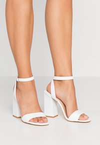 Even&Odd - Sandaler med høye hæler - white - 0