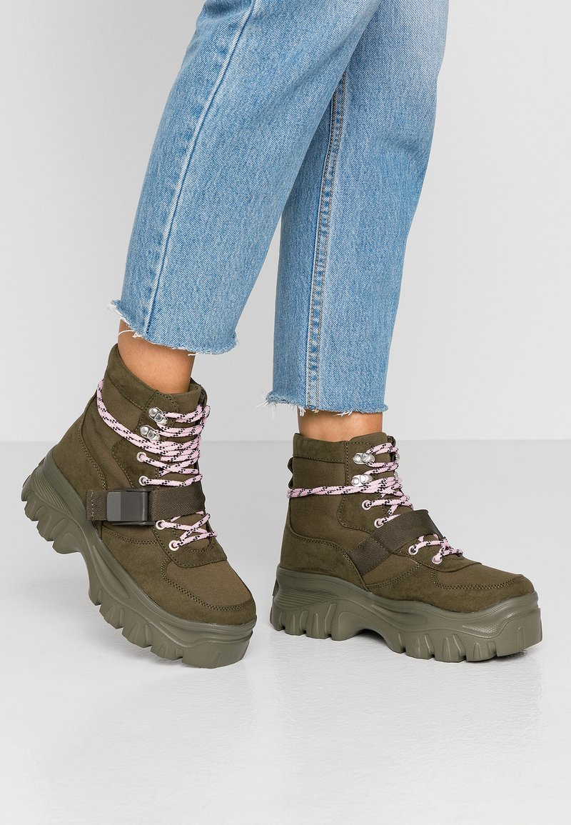 Even&Odd - Ankle boots - oliv