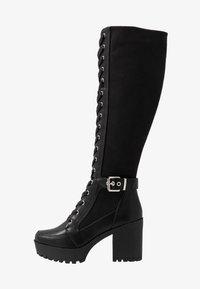 Even&Odd - Laarzen met hoge hak - black - 1