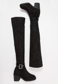Even&Odd - Kozačky nad kolena - black - 3