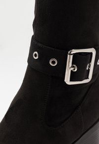 Even&Odd - Kozačky nad kolena - black - 2